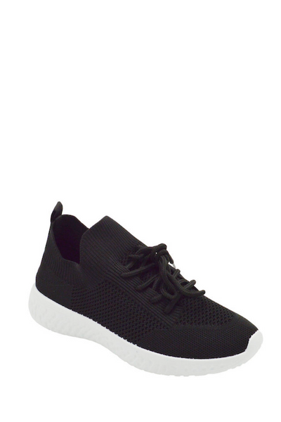 Lace Up Netted Sneaker