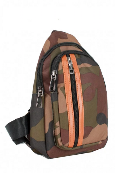 Camo Small Crossbody Backpack