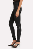 Kendall + Kylie Coated Black High Rise Skinny Jean