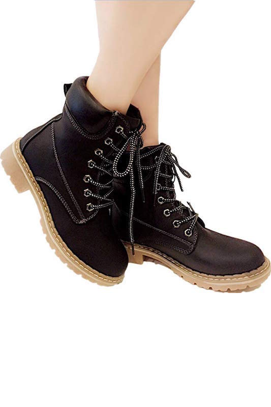 Combat Lace Up Boot