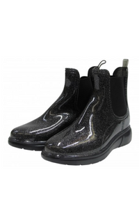 Glitter Ankle Rainboot
