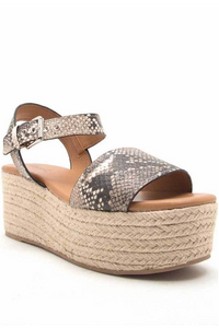 One Band Ankle Strap Espadrille Sandal