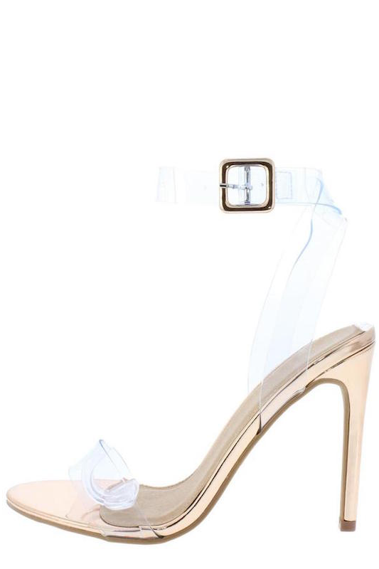 Clear One Ankle Band Heel