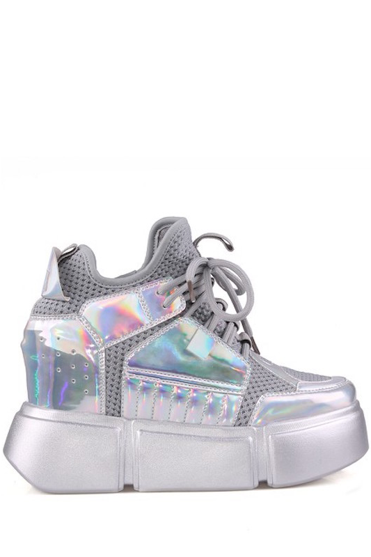 Lae Up Wedge Sneaker