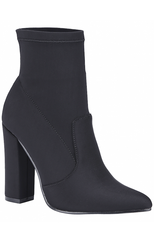 Stretch Ankle Bootie