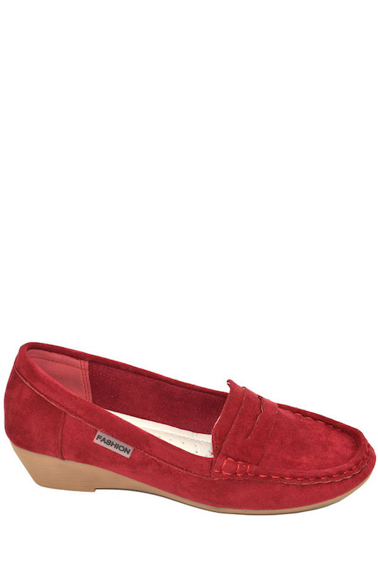 Loafer with Wedge Heel