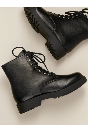 Lug Sole Combat Boot