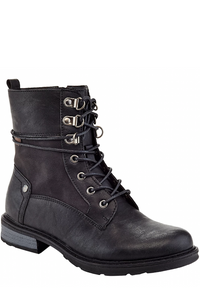 Lace Up Casual Bootie