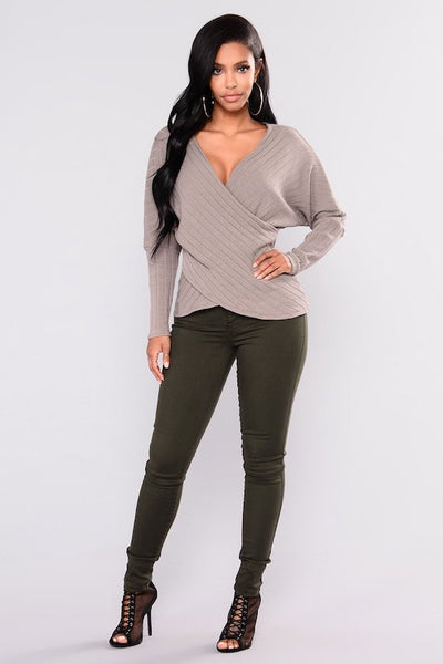 Olive High Waisted Skinny Jeans
