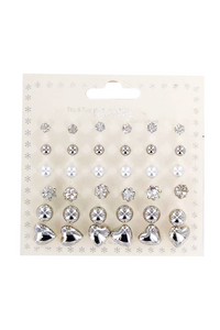 Assorted Stud Earring Pack