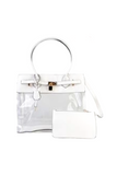Clear Handbag with Coin Purse