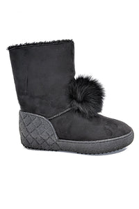 Boot w/ Furry Ball