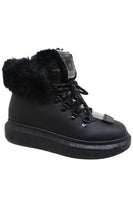 Fur Trim Snow Boot