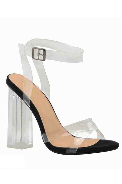 Chunky Lucite Heel