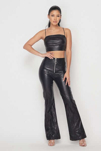 Faux Leather Set