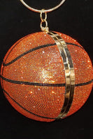 Crystal Basketball Bag