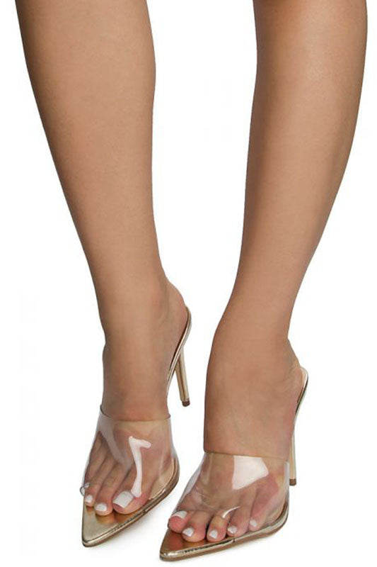 Exception Lucite Heel