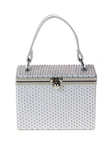 Rhinestone Box Clutch