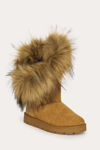 Ladies Fur Boot