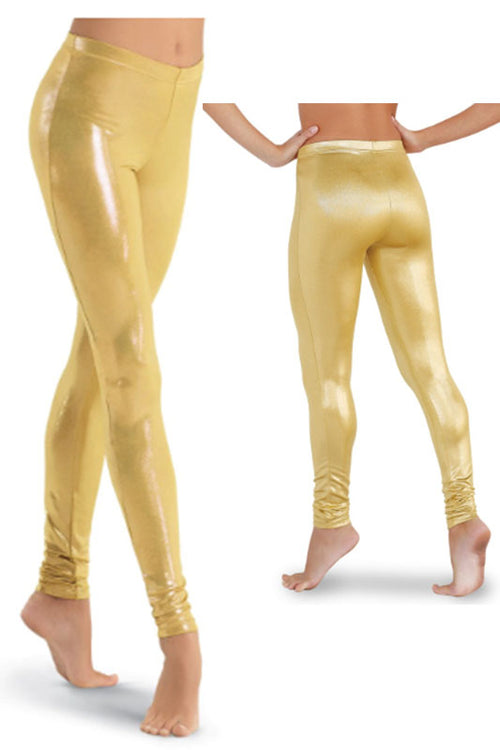 Metallic Lurex Legging