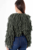 Shaggy Sweater Top