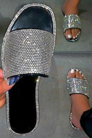 Rhinestone Detailed Sandal