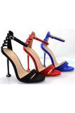 Lace Up Stiletto Heel