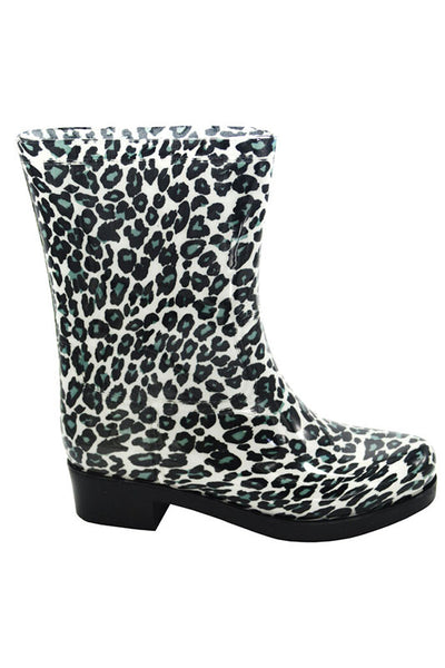 Leopard Rainboot