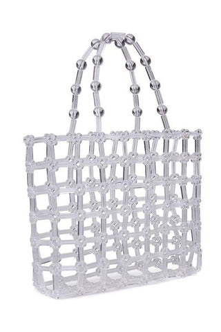 Clear Cutout Bag