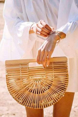 Small Bamboo Clutch