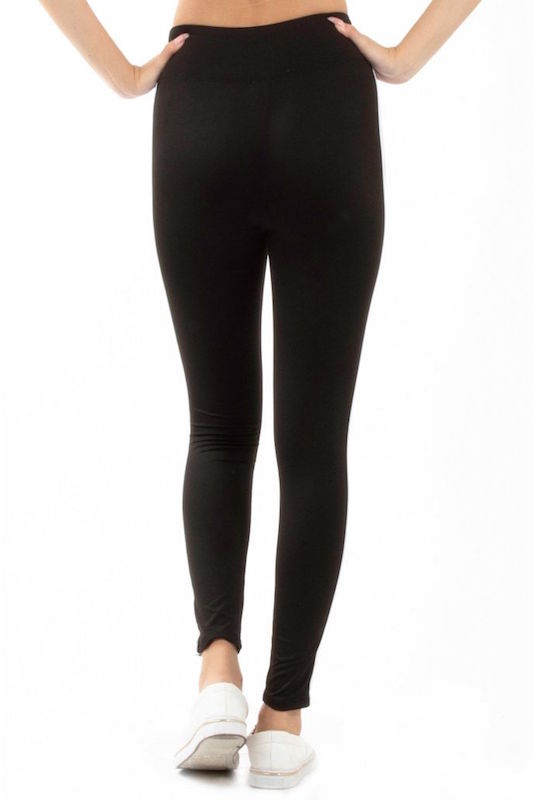 High Waist Double Side Stripes Legging Pants