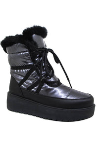 Lace Up Snow Boot