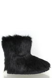Faux Furry Boot