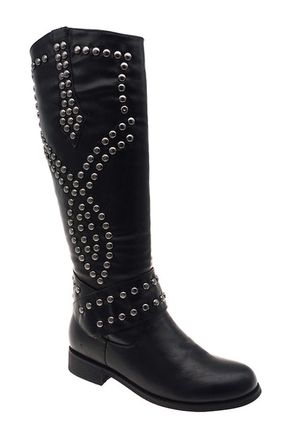 Studded Rider Boot