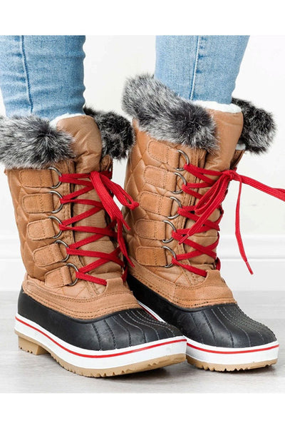 Snow Boot with Fur