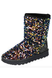 Glitter Fur Lined Boot