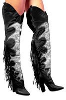 Thigh High Sequin Cowgirl Boot