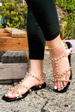 Studded Strappy Sandal