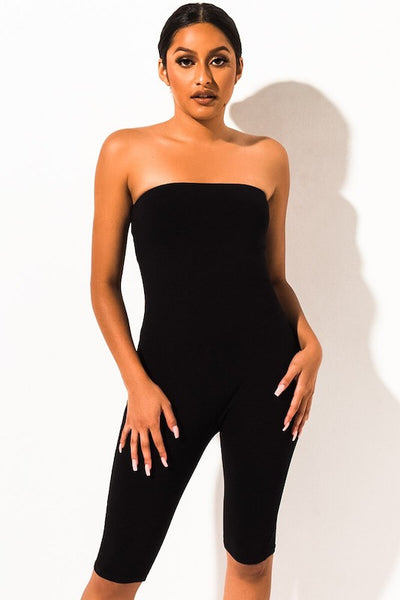 Bodycon Knee Length Romper
