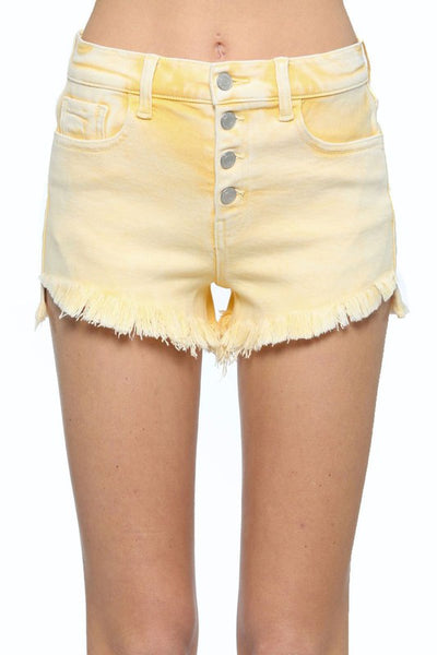 Lemonade Distressed & Frayed Shorts