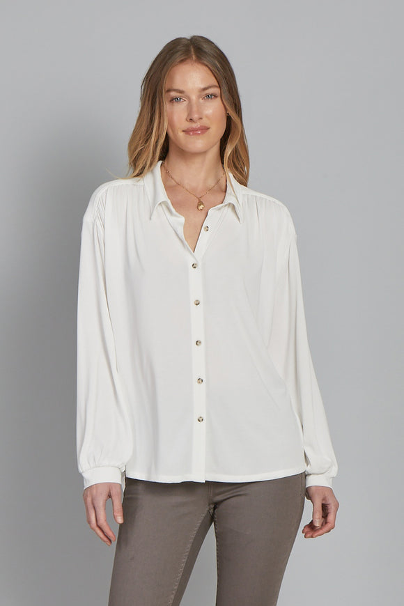 Hudson Collared Long-Sleeve Shirt