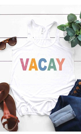 Vacay Graphic Tank Top