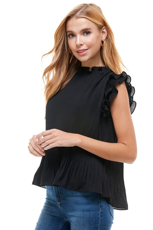 Pleated Construction Top