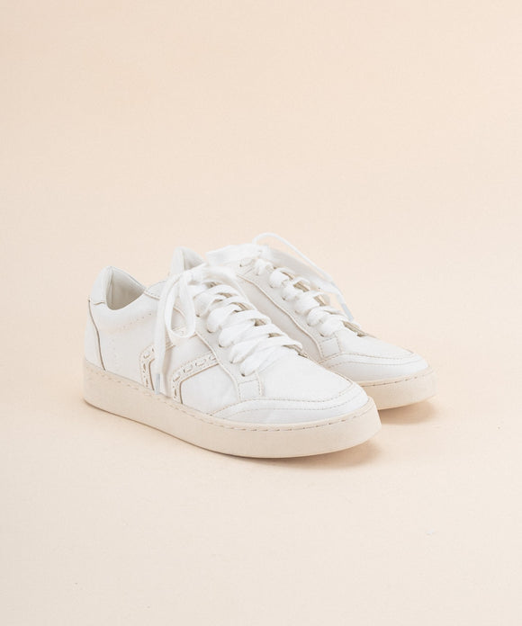 The Raven White Sneaker