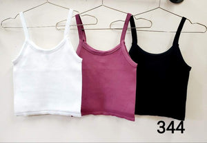 Thick Ribbed Baby Crop Cami