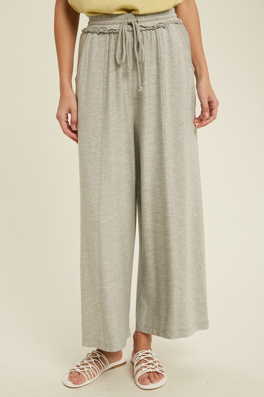 Smocked Waist Sweatpants