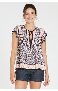 Noor Flutter Top
