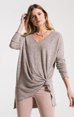The Marled Knit Tunic