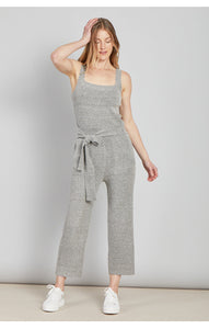 Adriana Front Tie Sweater Jumpsuit