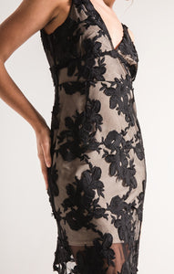 Alanis Black Lace Dress